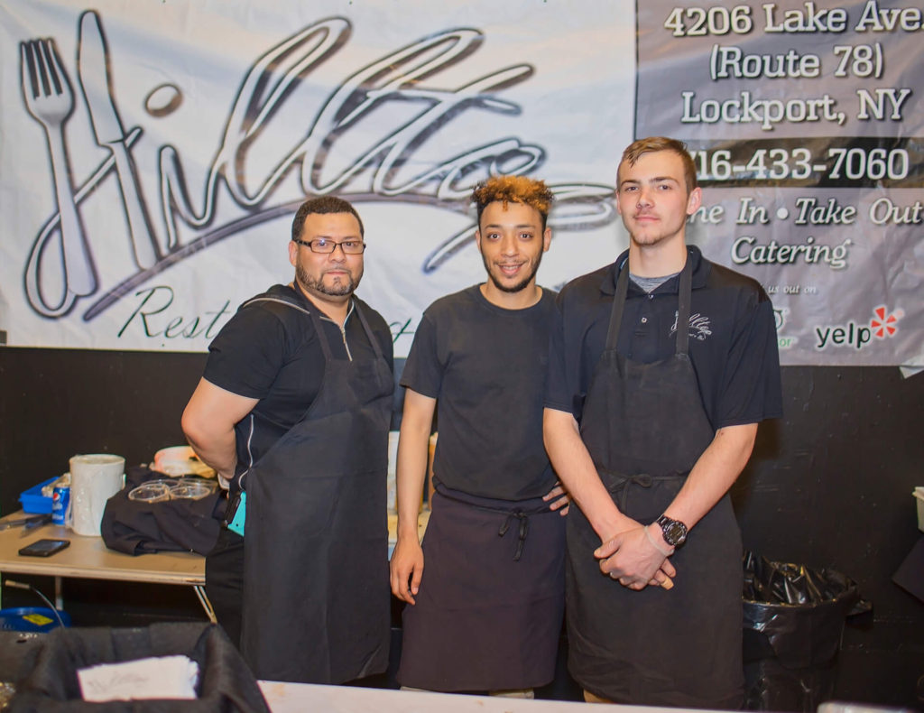 The Hilltop Restaurant and Bar Staff at Kenan Center Event in Lockport